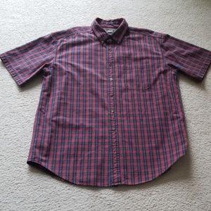 L.L. Bean Cotton Plaid Shirt